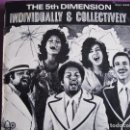 Discos de vinilo: LP - THE 5TH DIMENSION - INDIVIDUALLY AND COLLECTIVELY (SPAIN, BELL RECORDS 1972). Lote 63666495