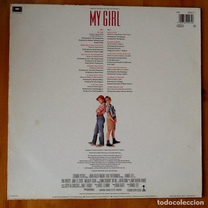 Discos de vinilo: V / A : BSO MY GIRL [ESP 1991] LP SLY & FAMILY STONE, TEMPTATIONS, T. RUNDGREN, CREEDENCE C. REVIVAL - Foto 2 - 63672499