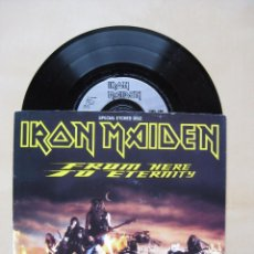 Discos de vinilo: IRON MAIDEN: FROM HERE TO ETERNITY - SPECIAL ETCHED DISC // NWOBHM. Lote 63676127