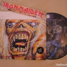 Discos de vinilo: IRON MAIDEN: BRING YOUR DAUGHTER... TO THE SLAUGHTER - LIMITED EDITION BRAINPACK // NWOBHM. Lote 63676879