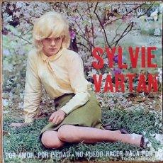 Discos de vinilo: SYLVIE VARTAN : PAR AMOUR PAR PITIE [ESP 1967] 7'. Lote 63690191
