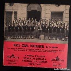 Discos de vinilo: MASA CORAL ESTRADENSE - A VEIRA DO LUME - . Lote 63697907