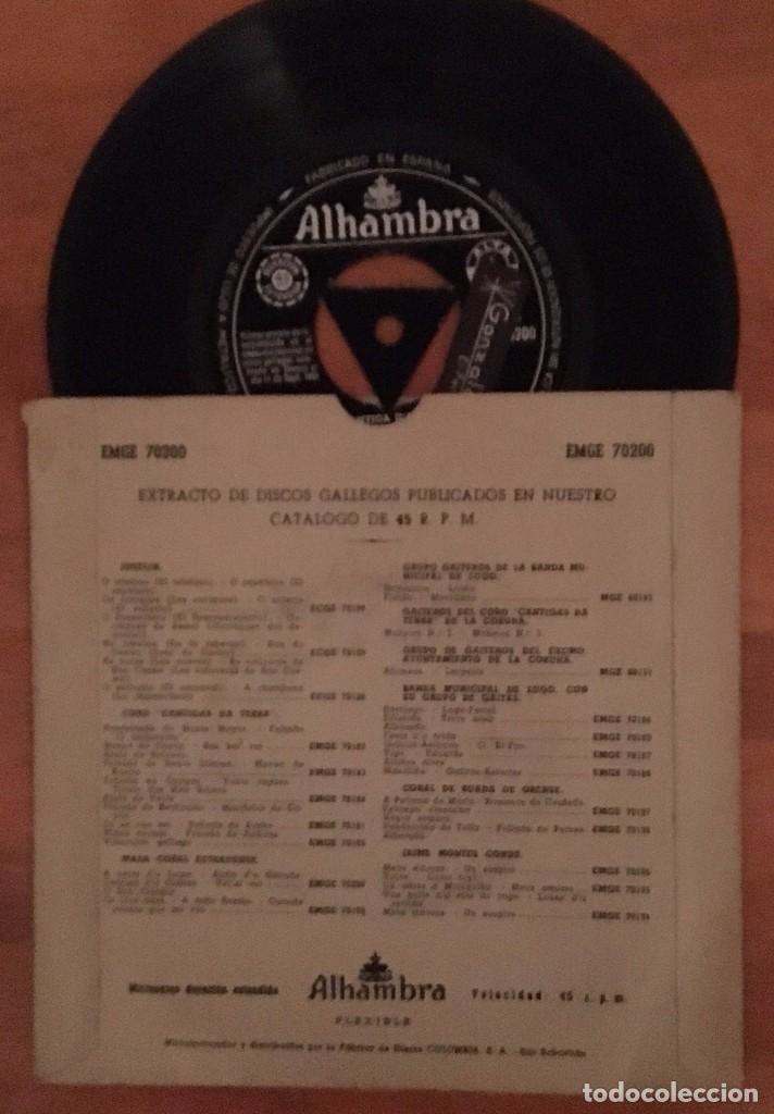 Discos de vinilo: MASA CORAL ESTRADENSE - A VEIRA DO LUME - - Foto 2 - 63697907