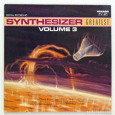 Discos de vinilo: VARIOS - 'SYNTHESIZER - GREATEST VOLUME 3' (LP VINILO. ORIGINAL 1990. ALEMANIA) - PEDIDO MÍNIMO 8€. Lote 63710379