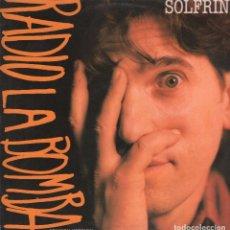 Discos de vinilo: ALBERTO SOLFRINI / RADIO LA BOMBA - (3 VERSIONES) - LP MAXISINGLE VIRGIN DE 1988 ,RF-791. Lote 63710575