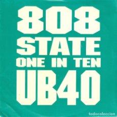 Discos de vinilo: VENDO SINGLE DE UB40, (VER FOTO E INFORMACION EN CONTRAPORTADA).. Lote 63731847