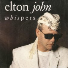Discos de vinilo: VENDO SINGLE DE ELTON JOHN, (VER FOTO E INFORMACION EN CONTRAPORTADA).. Lote 63735367