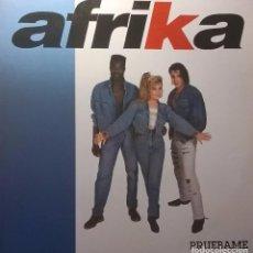 Discos de vinilo: AFRIKA, PRUÉBAME, FONOGRAF-SG - 1009 - 1. Lote 63754771