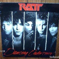 Discos de vinilo: RATT - DANCING UNDERCOVER . Lote 63756159