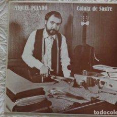 Discos de vinil: MIQUEL PUJADÓ - CALAIX DE SASTRE - 1984 BLAU - CON ENCARTE. Lote 63779503