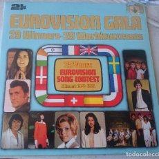 Discos de vinilo: EUROVISION GALA. WINNERS 1955-1981 (2LP POLYDOR 1981). Lote 63783183