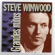 Discos de vinilo: STEVE WINWOOD ONLY SPANISH CD MAXI GRANDES MITOS 2000. Lote 26311189