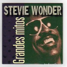 Discos de vinilo: STEVIE WONDER ONLY SPANISH CD MAXI GRANDES MITOS 2000. Lote 26311225