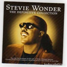 Discos de vinilo: STEVIE WONDER ONLY SPANISH CD THE DEFINTIVE COLLECTION. Lote 26311270