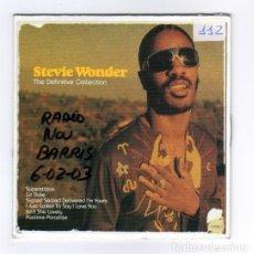 Discos de vinilo: STEVIE WONDER SPANISH CD MAXI DEFINITIVE COLLECTION. Lote 26311319