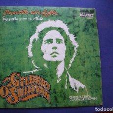Discos de vinilo: GILBERT O'SULLIVAN SOY POETA Y NO UN ATLETA LP SPAIN 1974 PDELUXE. Lote 63785031