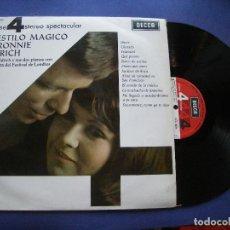 Discos de vinilo: RONNIE ALDRICH EL ESTILO MAGICO DE R.ALDRICH LP SPAIN 1967 PDELUXE. Lote 63785515