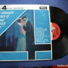 Discos de vinilo: RONNIE ALDRICH THE ROMANTIC PIANOS LP SPAIN 1966 PDELUXE. Lote 63786287