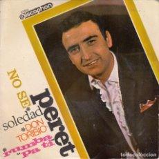 Discos de vinilo: PERET - DON TORIBIO - EP R@RO DE VINILO RUMBAS - RUMBA CATALANA. Lote 63788443