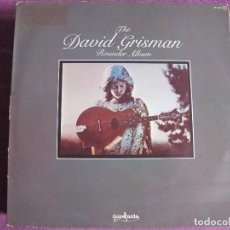Discos de vinilo: LP - DAVID GRISMAN ?– THE DAVID GRISMAN ROUNDER ALBUM (BLUEGRASS) (SPAIN, GUIMBARDA 1981). Lote 63792991