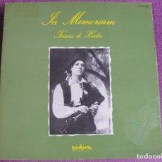 Discos de vinilo: LP - FAISCAS DO XIABRE - IN MEMORIAM (SPAIN, GUIMBARDA 1979, PORTADA DOBLE, CONTIENE LIBRETO). Lote 63794727