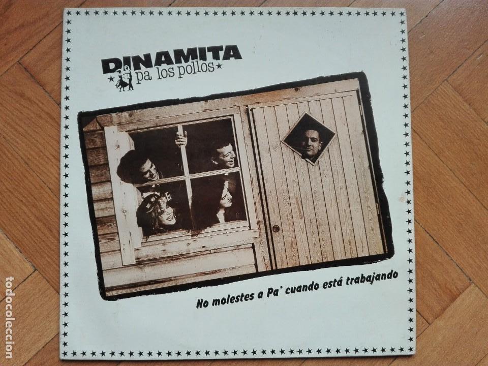 VINILO DISCO LP DINAMITA PA LOS POLLOS - NO MOLESTES A PA (Música - Discos - LP Vinilo - Grupos Españoles de los 70 y 80)