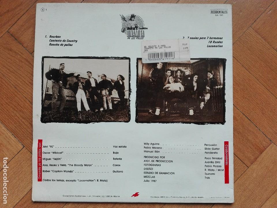 Discos de vinilo: VINILO DISCO LP DINAMITA PA LOS POLLOS - NO MOLESTES A PA - Foto 2 - 63818399