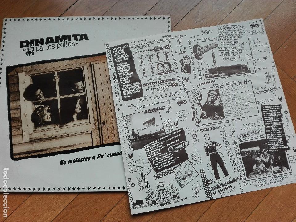 Discos de vinilo: VINILO DISCO LP DINAMITA PA LOS POLLOS - NO MOLESTES A PA - Foto 3 - 63818399