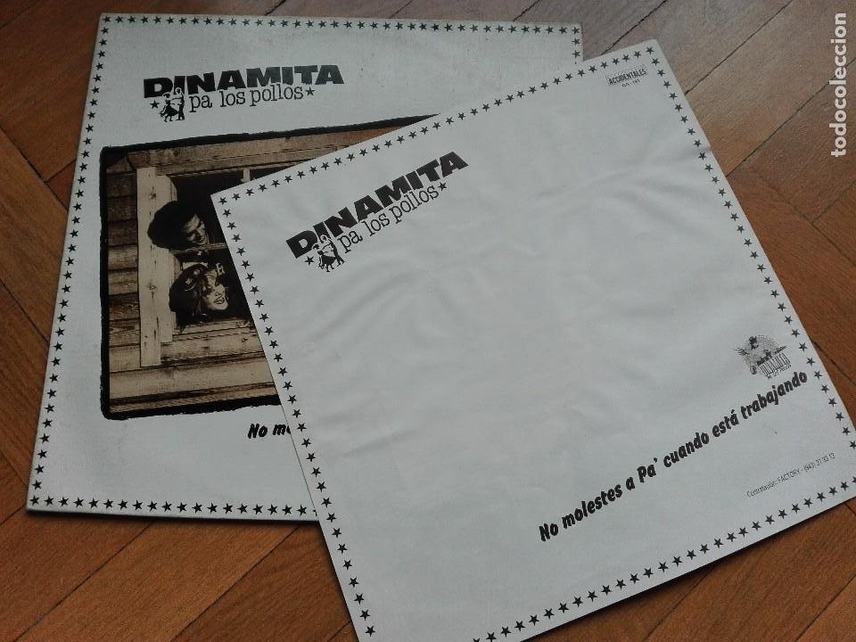 Discos de vinilo: VINILO DISCO LP DINAMITA PA LOS POLLOS - NO MOLESTES A PA - Foto 4 - 63818399
