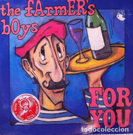 THE FARMER'S BOYS - FOR YOU, MAXI SINGLE, 1983 (Música - Discos de Vinilo - Maxi Singles - Pop - Rock - New Wave Internacional de los 80)
