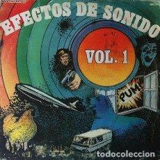 Discos de vinilo: EFECTOS DE SONIDO VOL 1 . LP DIAL DISCOS 1981. Lote 32060088
