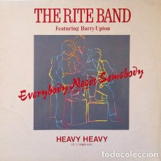 Discos de vinilo: THE RITE BAND FEATURING BARRY UPTON - EVERYBODY NEEDS SOMEBODY . MAXI SINGLE . 1987 TESTALWORLD . Lote 32228628