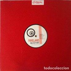 Discos de vinilo: FIRELAND - 903 HOT MIX . MAXI SINGLE . 1992 CAR CRASH RECORDS . Lote 32258451