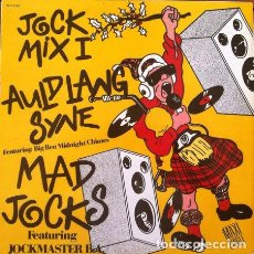 Discos de vinilo: MAD JOCK FEATURING JOCKMASTER B.A. - JOCK MIX 1 . MAXI SINGLE . 1988 ZAFIRO. Lote 32299797