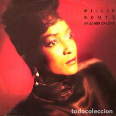 Discos de vinilo: MILLIE SCOTT - PRISONER OF LOVE . MAXISINGLE . 1986 FOURTH & BROADWAY UK. Lote 32351224