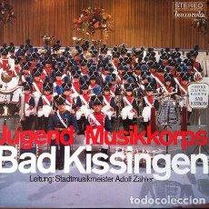 Discos de vinilo: JUGEND MUSIKKORPS BAD KISSINGEN ( ADOLF ZAHLER ) . LP . BARCAROLA 79 277 ZU GERMANY. Lote 32410018