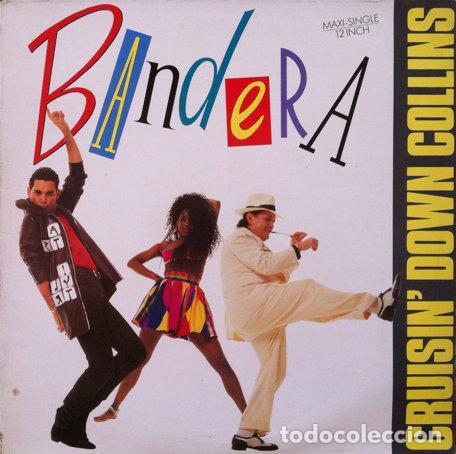 BANDERA - CRUISIN' DOWN COLLINS . MAXI SINGLE . 1989 ISLAND RECORDS (Música - Discos de Vinilo - Maxi Singles - Disco y Dance)