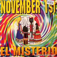 Discos de vinilo: NOVEMBER 1ST - EL MISTERIO . MAXI SINGLE . 1994 CHRYSALIS. Lote 32443184