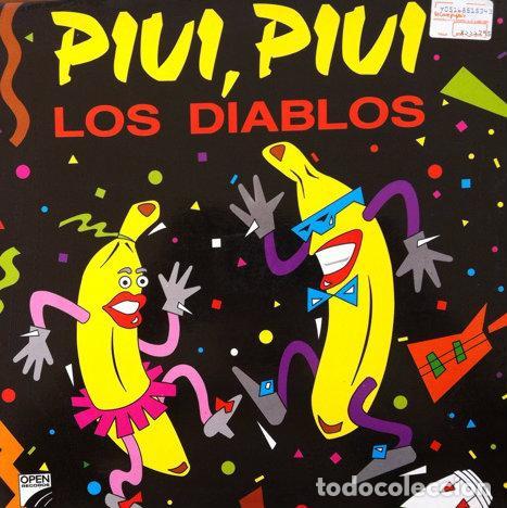 LOS DIABLOS - PIUI , PIUI ( DISPUTA DE PODER / UN RAYO DE SOL . MAXI SINGLE . 1990 OPEN RECORDS (Música - Discos de Vinilo - Maxi Singles - Grupos Españoles de los 90 a la actualidad)