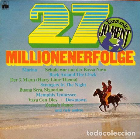 JO MENT COMBO - 27 MILLIONENERFOLGE . LP . ARIOLA GERMANY (Música - Discos de Vinilo - Maxi Singles - Orquestas)