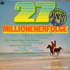 Discos de vinilo: JO MENT COMBO - 27 MILLIONENERFOLGE . LP . ARIOLA GERMANY. Lote 32522549