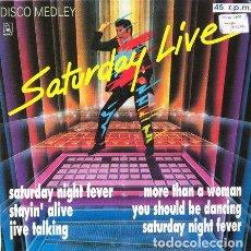 Discos de vinilo: SATURDAY LIVE (DISCO MEDLEY) . MAXI SINGLE . 1991 HORUS . Lote 32534605