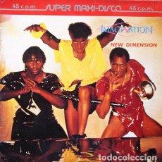 Discos de vinilo: IMAGINATION - NEW DIMENSION . MAXI SINGLE . 1983 RED BUS. Lote 32535150