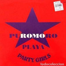 Discos de vinilo: PUROMORO - PLAYA PARTY GIRLS . MAXI SINGLE . 1992 TOMA TOMA RECORDS . Lote 32544406