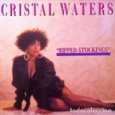 Discos de vinilo: CRISTAL WATERS - RIPPED STOCKINGS . MAXI SINGLE . 1990 SPITFIRE MUSIC. Lote 32547033