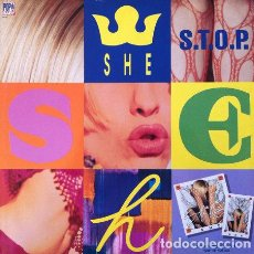 Discos de vinilo: SHE - SECOND HAND NEWS . MAXI SINGLE . 1992 BABY RECORDS ITALIA. Lote 32550331