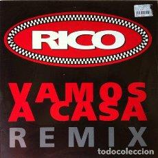Discos de vinilo: RICO - VAMOS A CASA ( REMIX ) . MAXI SINGLE . 1992 POLYDOR . Lote 32563195