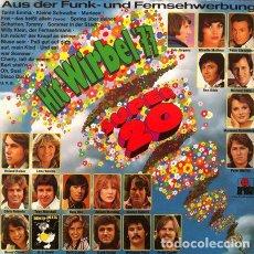 Discos de vinilo: HIT WIRBEL 77 - SUPER 20 . LP . 1977 ARIOLA GERMANY. Lote 32600426