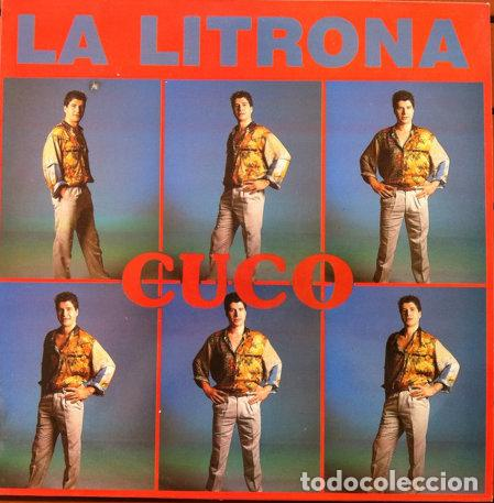 CUCO - LA LITRONA . MAXI SINGLE . 1989 MANDARINA (Música - Discos de Vinilo - Maxi Singles - Solistas Españoles de los 70 a la actualidad)