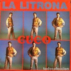 Discos de vinilo: CUCO - LA LITRONA . MAXI SINGLE . 1989 MANDARINA. Lote 32605555